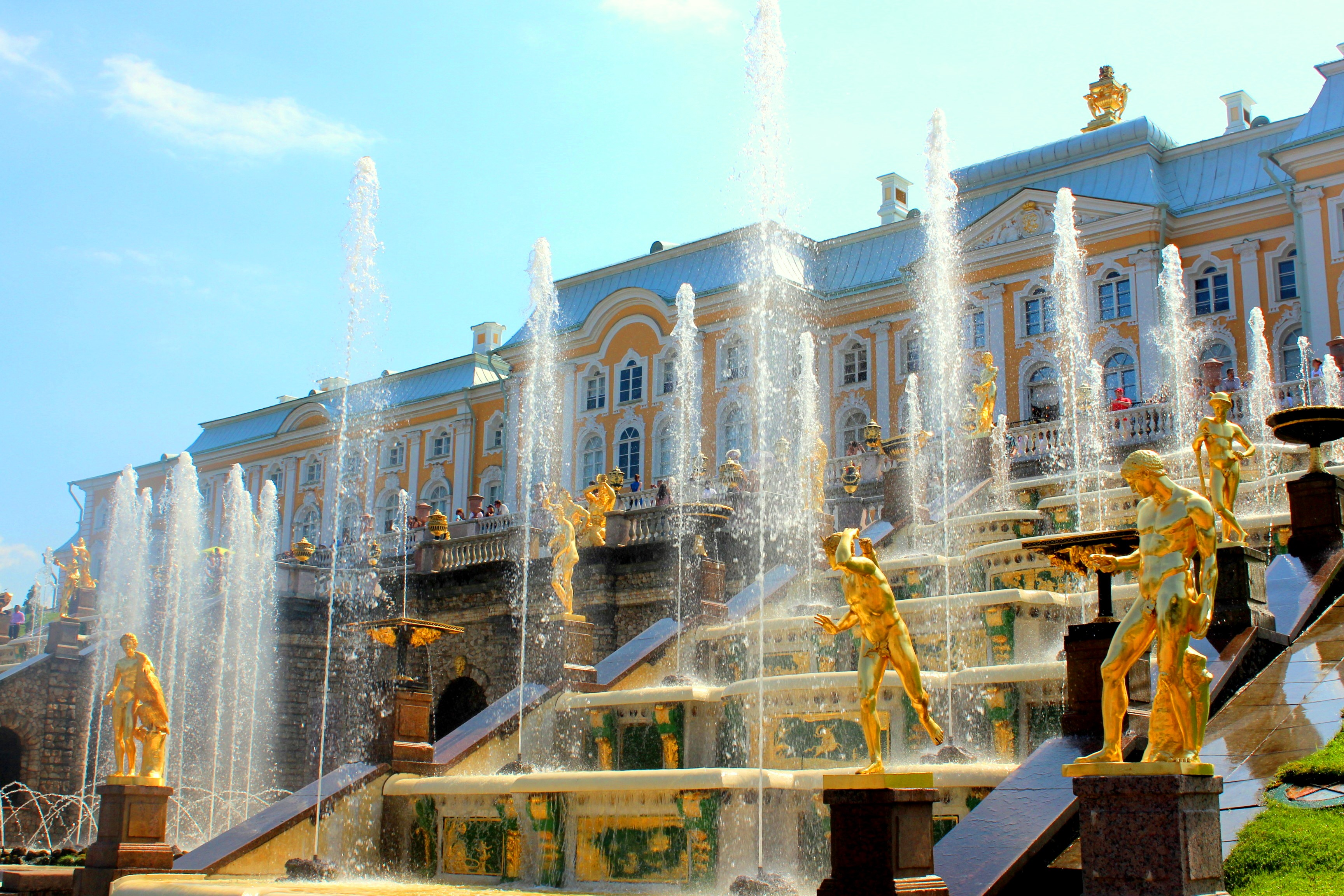 Peterhof in St. Petersburg Russland